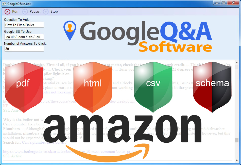 Google Question & Answer Tool