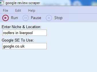 Google Review Scraper Software